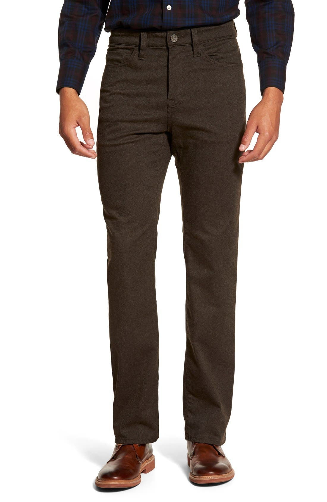 'Charisma' Relaxed Fit Jeans,                         Main,                         color, Mocca Luxe