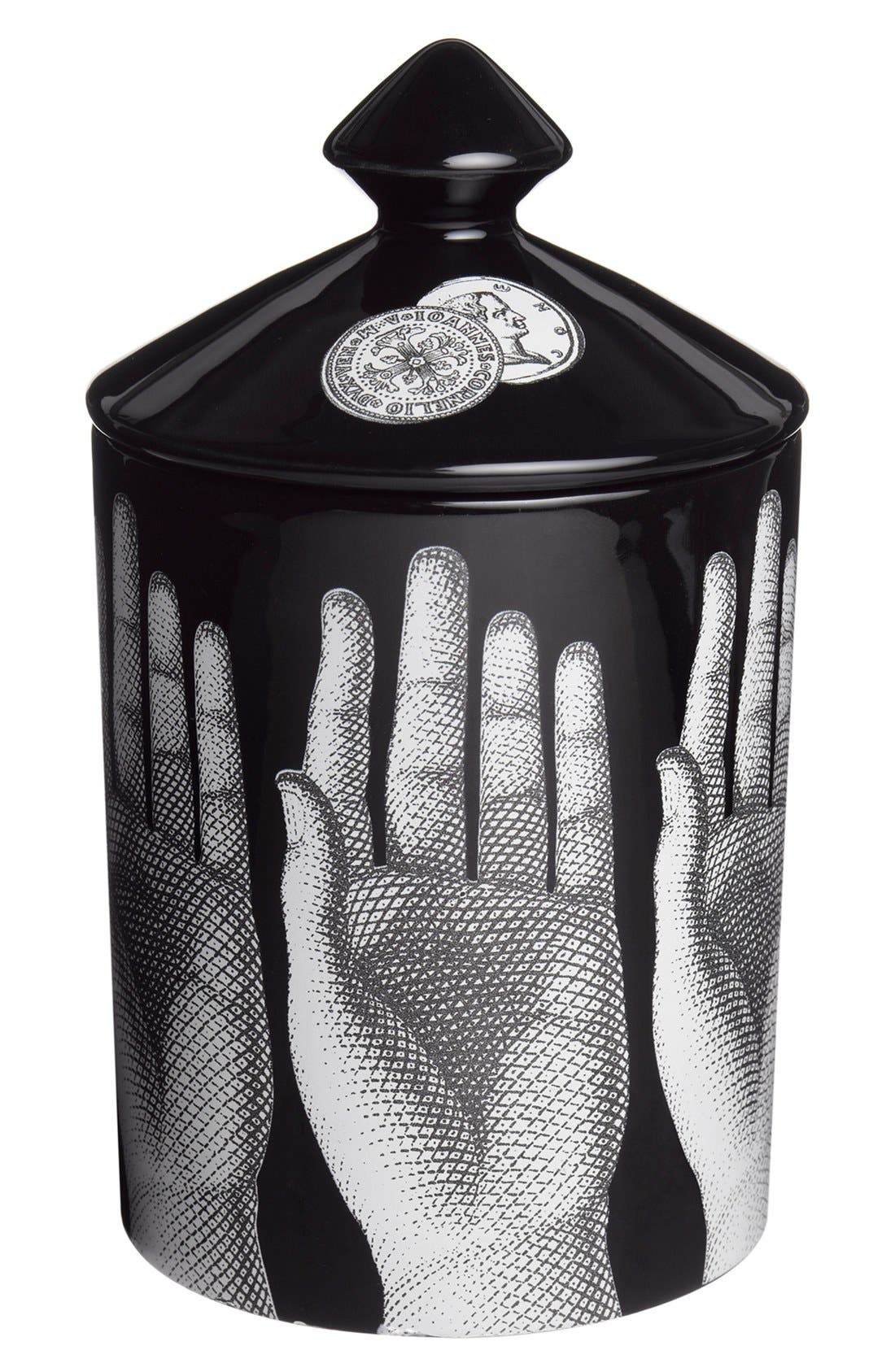 Alternate Image 1 Selected - Fornasetti 'Mani - Otto' Lidded Candle