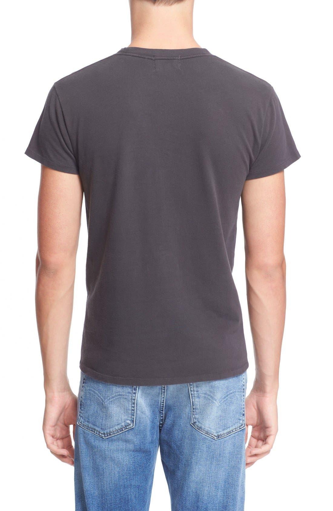 Levi's Vintage Clothing '1950s' Pocket T-Shirt,                             Alternate thumbnail 2, color,                             Black