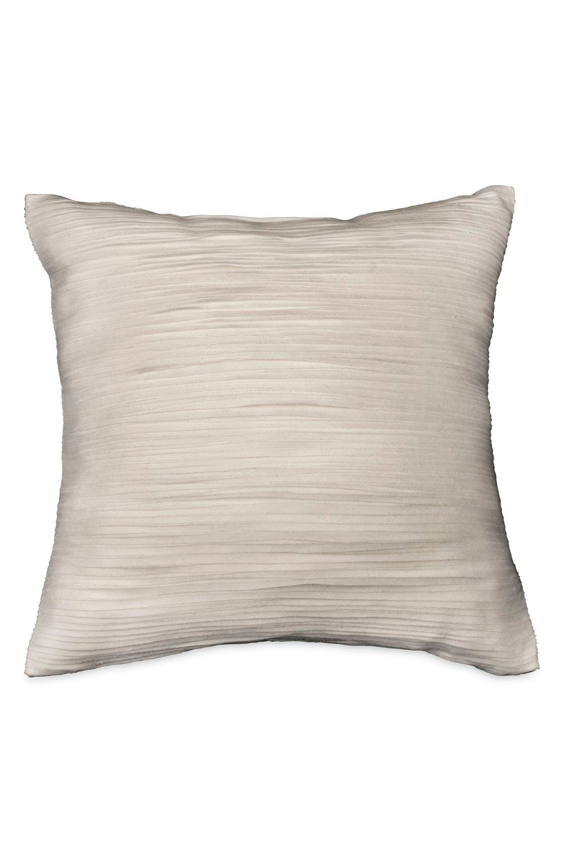 Donna Karan Collection 'Silk Essentials' Pillow,                             Main thumbnail 1, color,                             Platinum