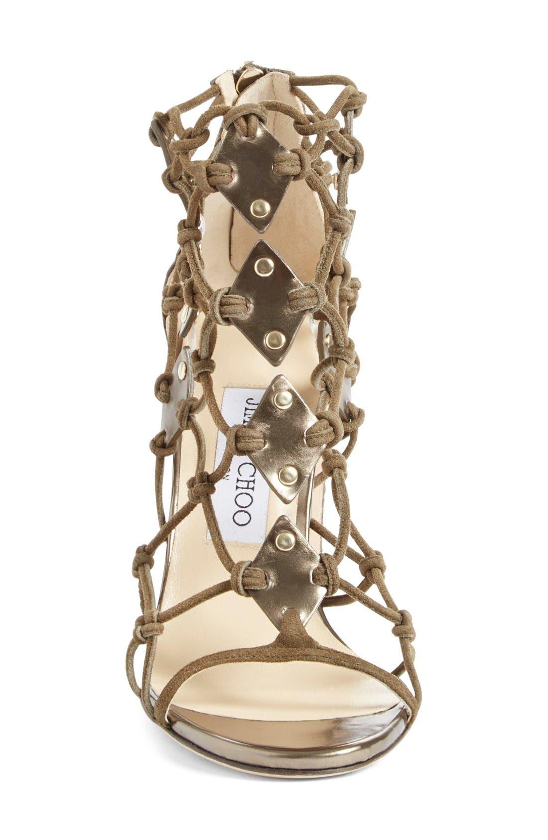 Alternate Image 3  - Jimmy Choo 'Trickle' Caged Sandal (Women)