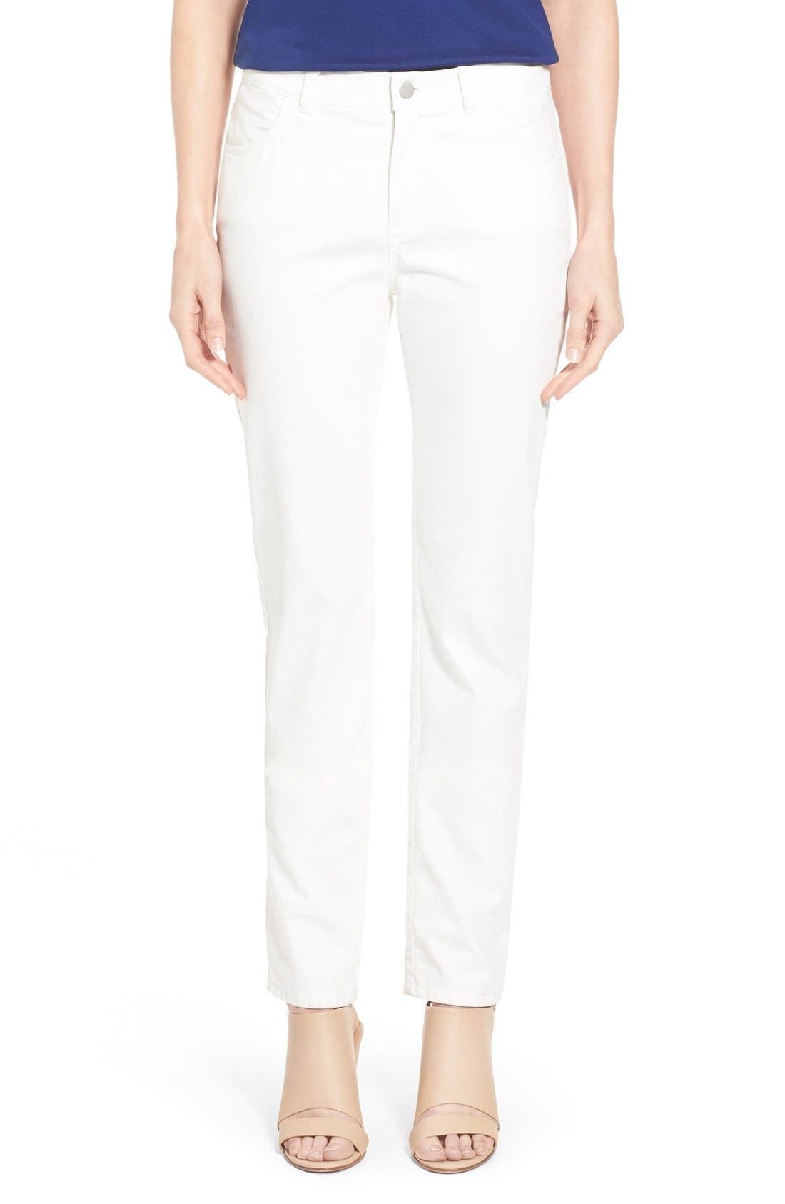 Alternate Image 1 Selected - Lafayette 148 New York Curvy Fit Jeans