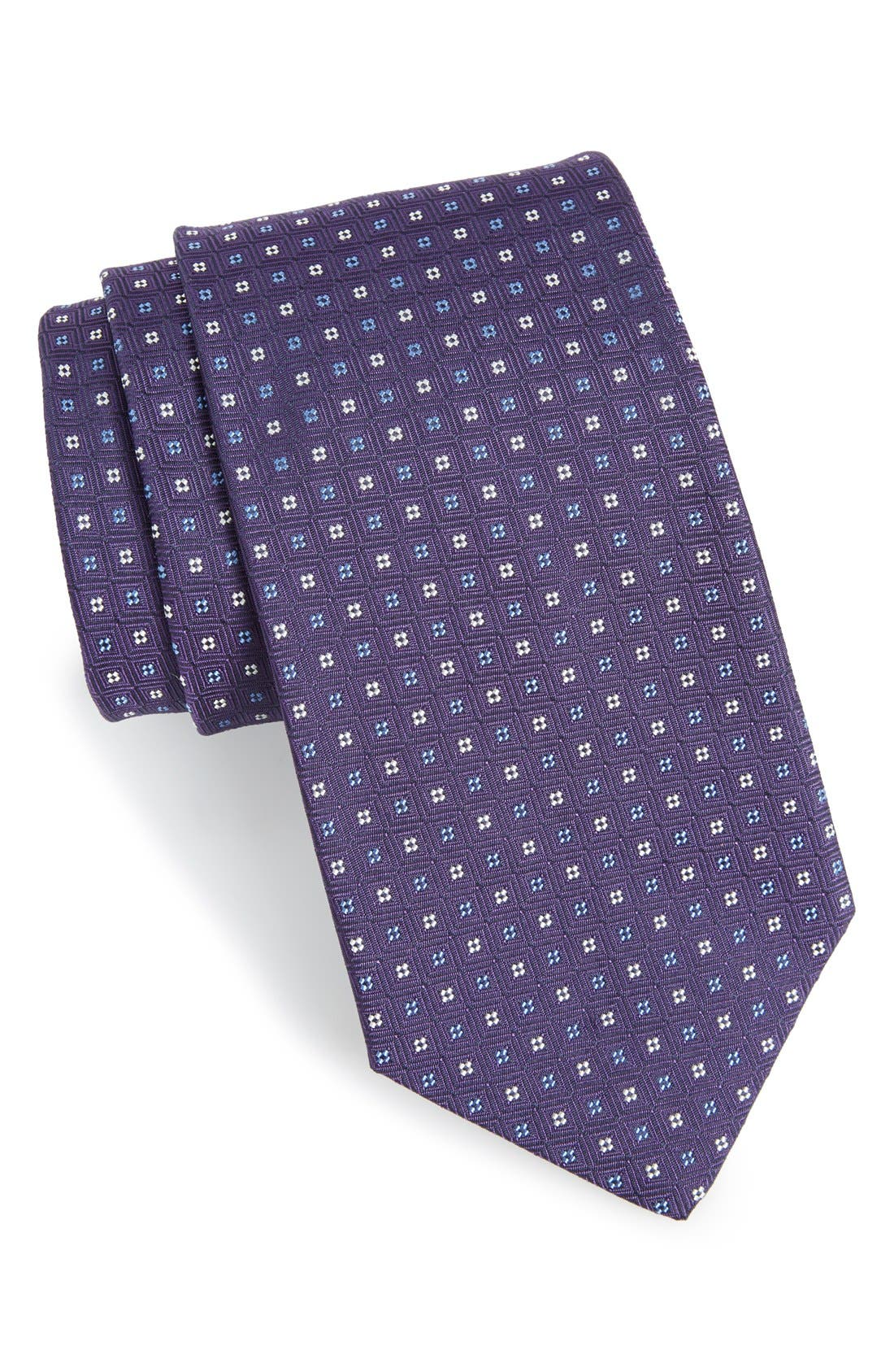 Main Image - Gitman Geometric Silk Tie