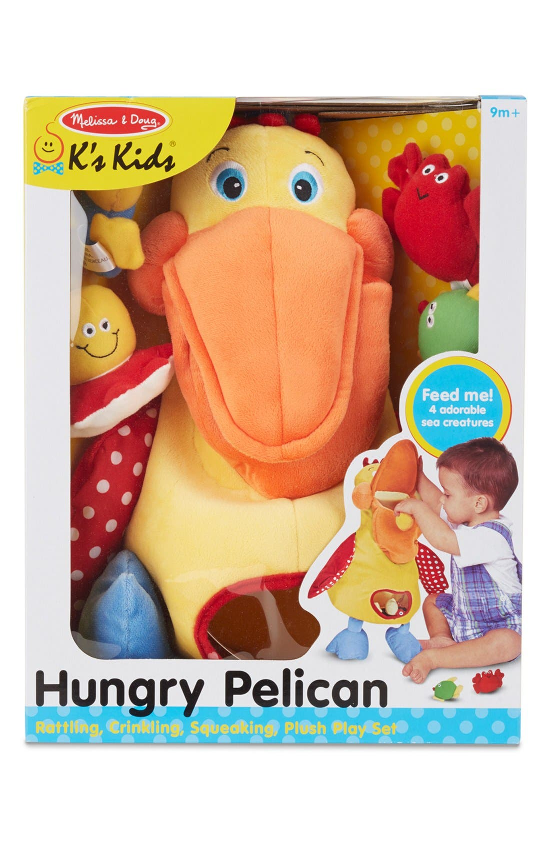 'Hungry Pelican' Plush Toy,                             Alternate thumbnail 2, color,                             Yellow