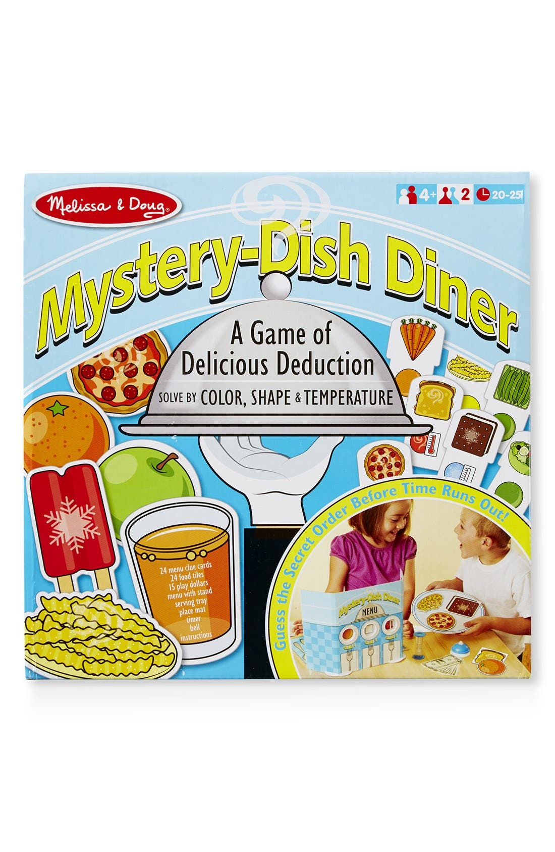 'Mystery Dish Diner' Game,                         Main,                         color, White