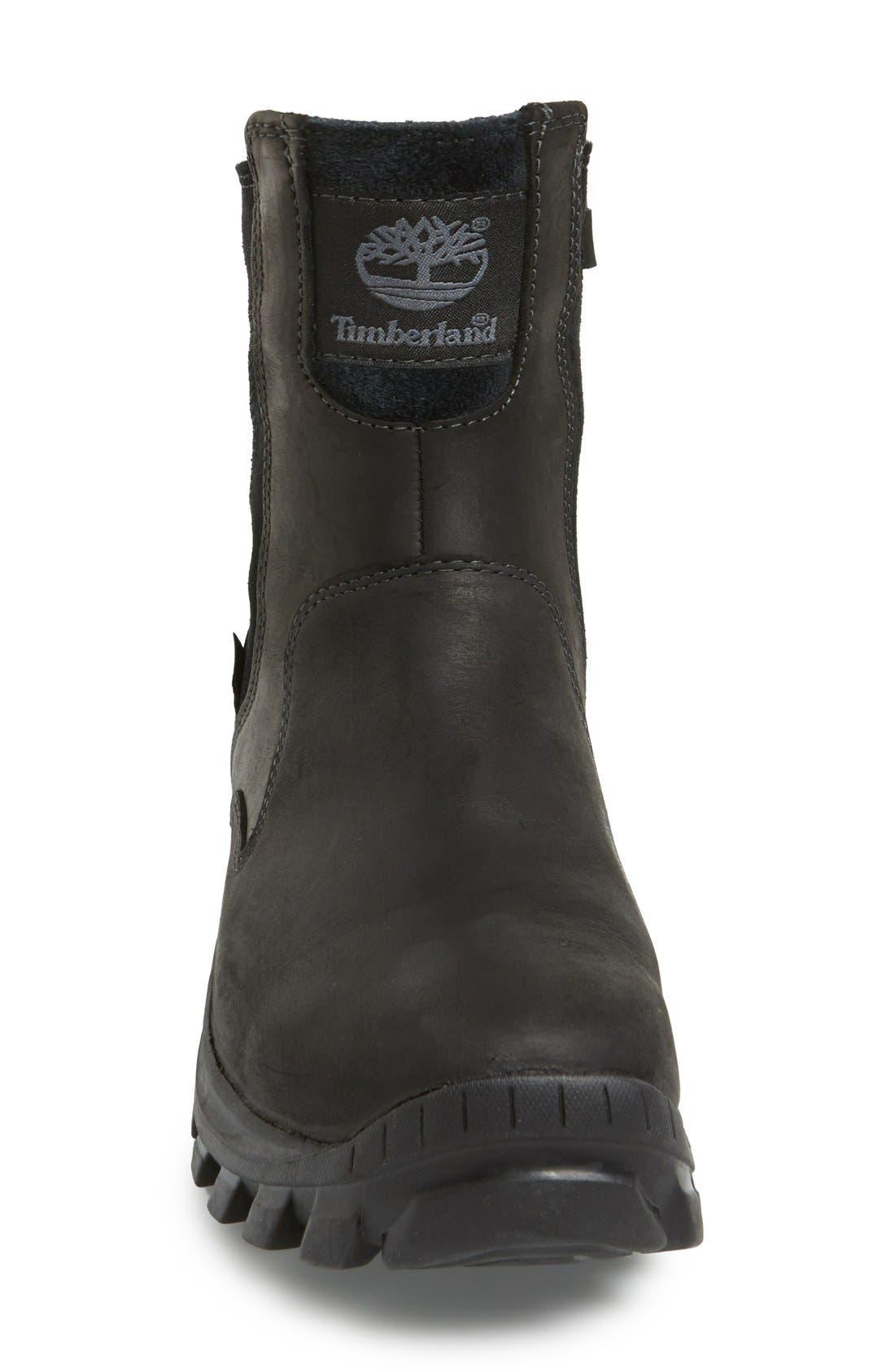 'Chillberg'Waterproof Boot,                             Alternate thumbnail 3, color,                             Black