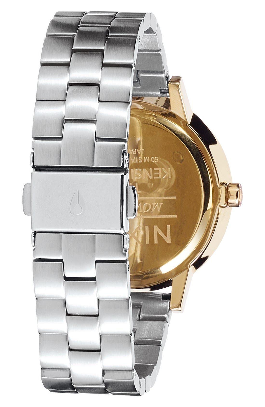 Alternate Image 2  - Nixon 'The Kensington' Bracelet Watch, 37mm