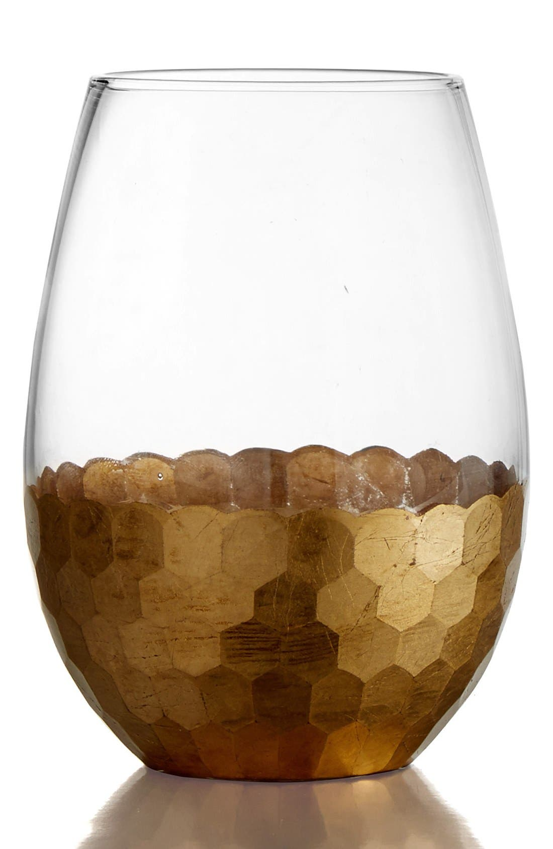 American Atelier Daphne Set of 4 Stemless Wine Glasses