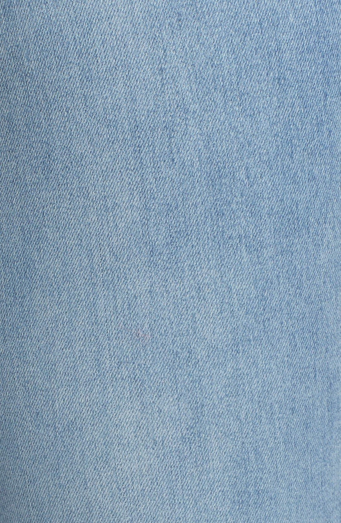 Destroyed Skinny Jeans,                             Alternate thumbnail 5, color,                             Brass