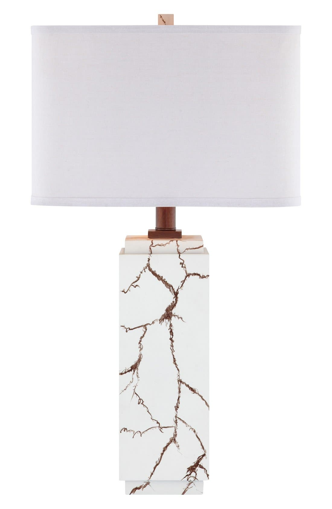Alternate Image 1 Selected - JAlexander Lighting Faux Howlite Table Lamp