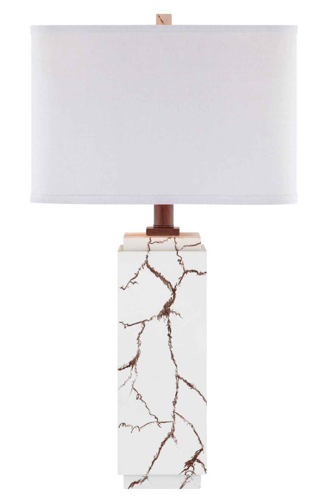 Main Image - JAlexander Lighting Faux Howlite Table Lamp