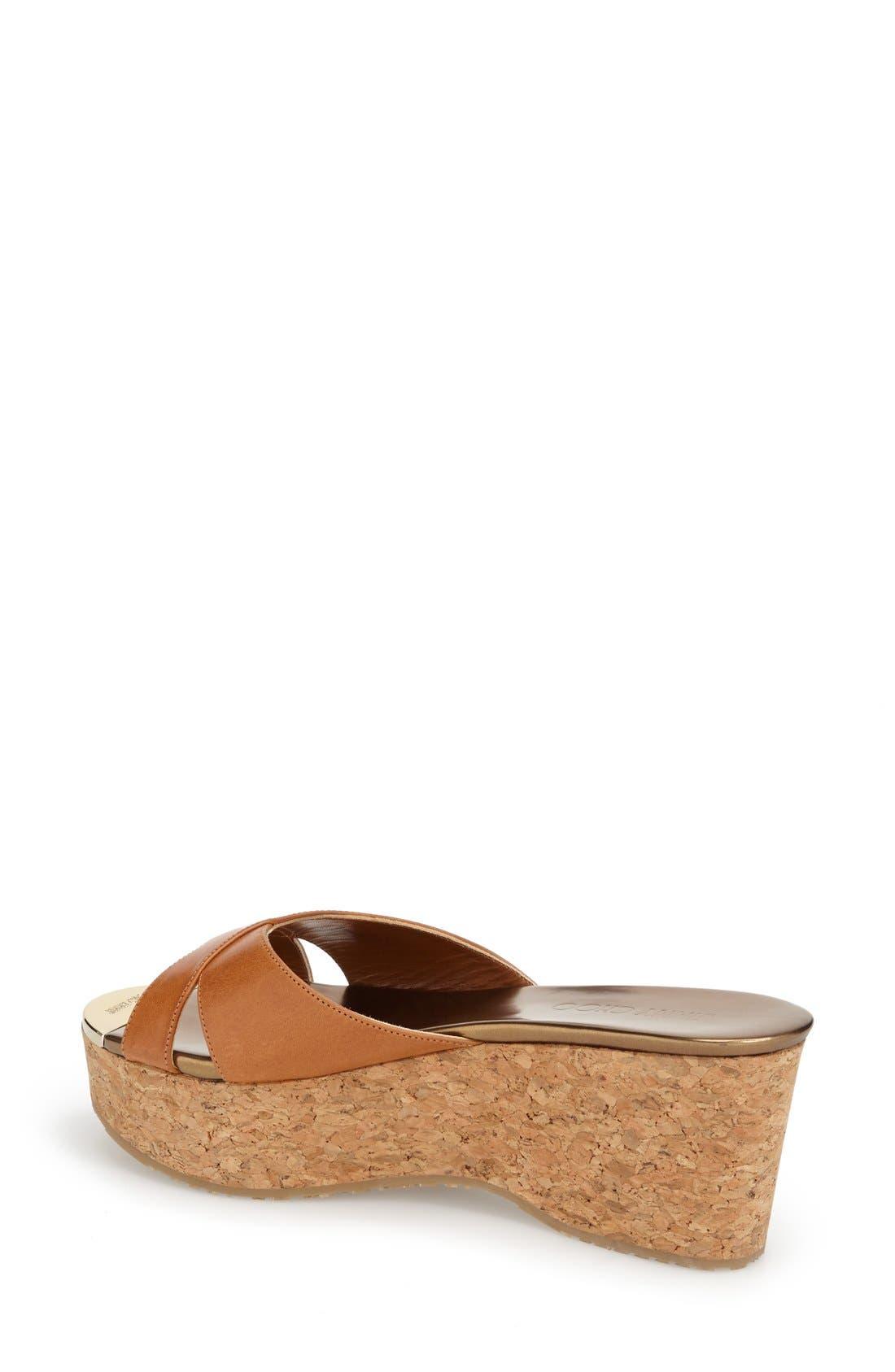 Alternate Image 2  - Jimmy Choo 'Prima' Cork Platform Sandal