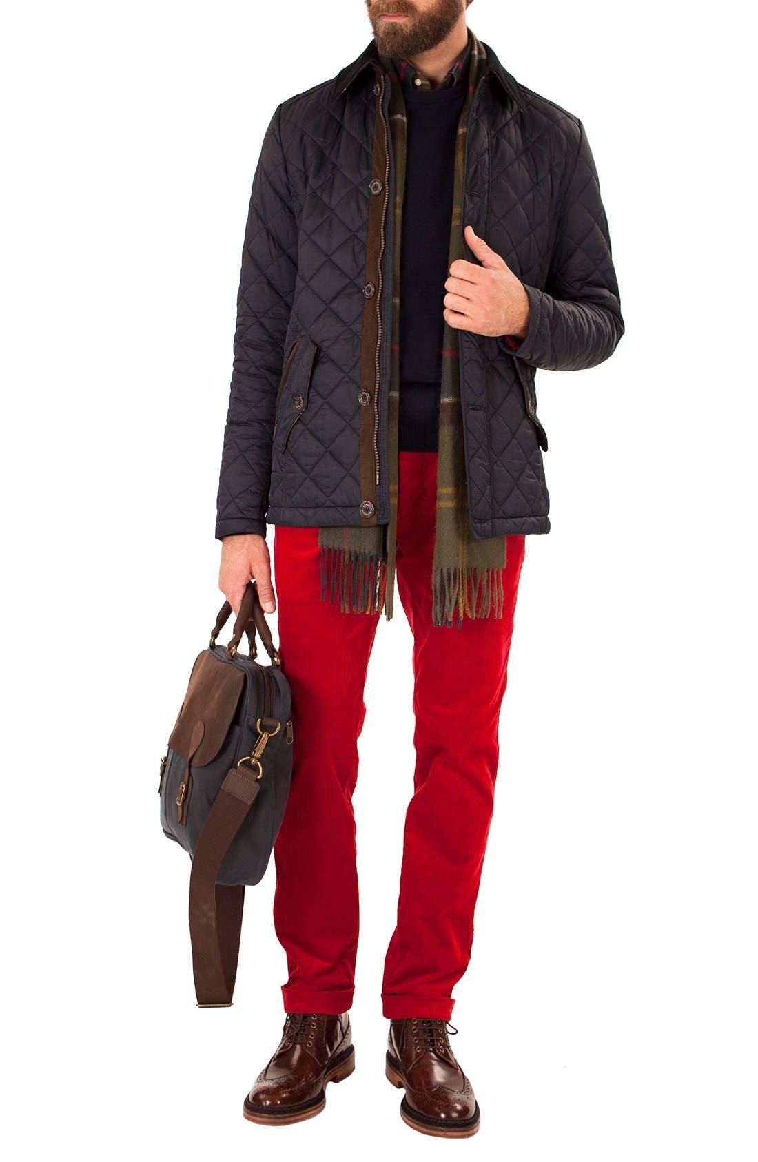 Alternate Image 8  - Barbour 'Fortnum' Regular Fit Quilted Jacket