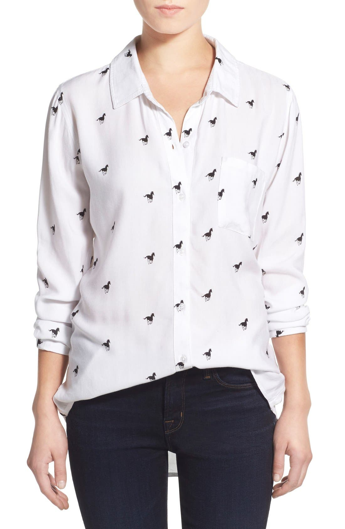 Main Image - Rails 'Rocsi' Horse Print Shirt