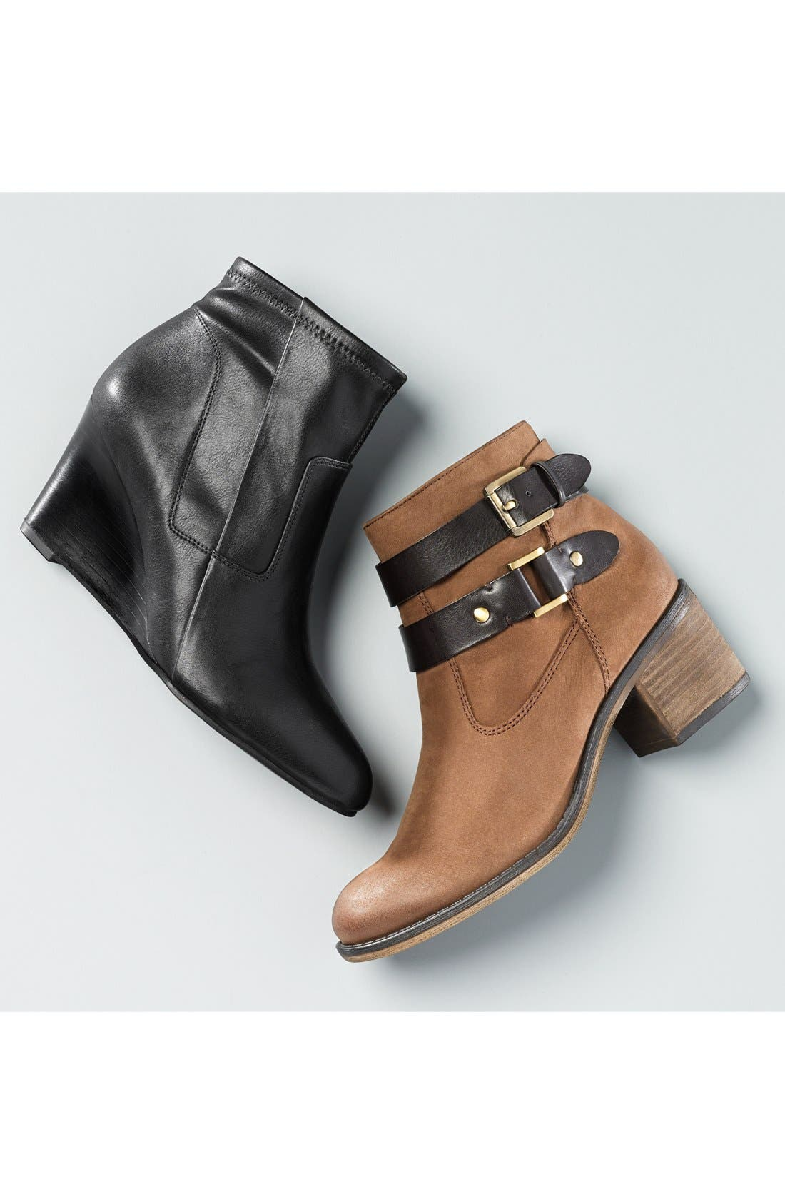 Alternate Image 5  - Franco Sarto 'Linden' Leather Bootie (Women) (Nordstrom Exclusive)