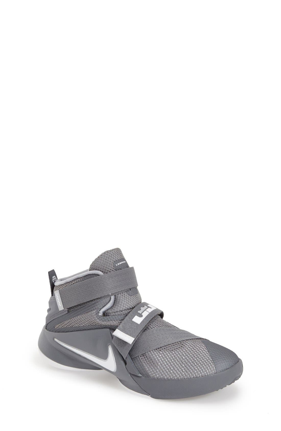 Nike \'LeBron Soldier IX\' Basketball Shoe (Toddler & Little Kid ...