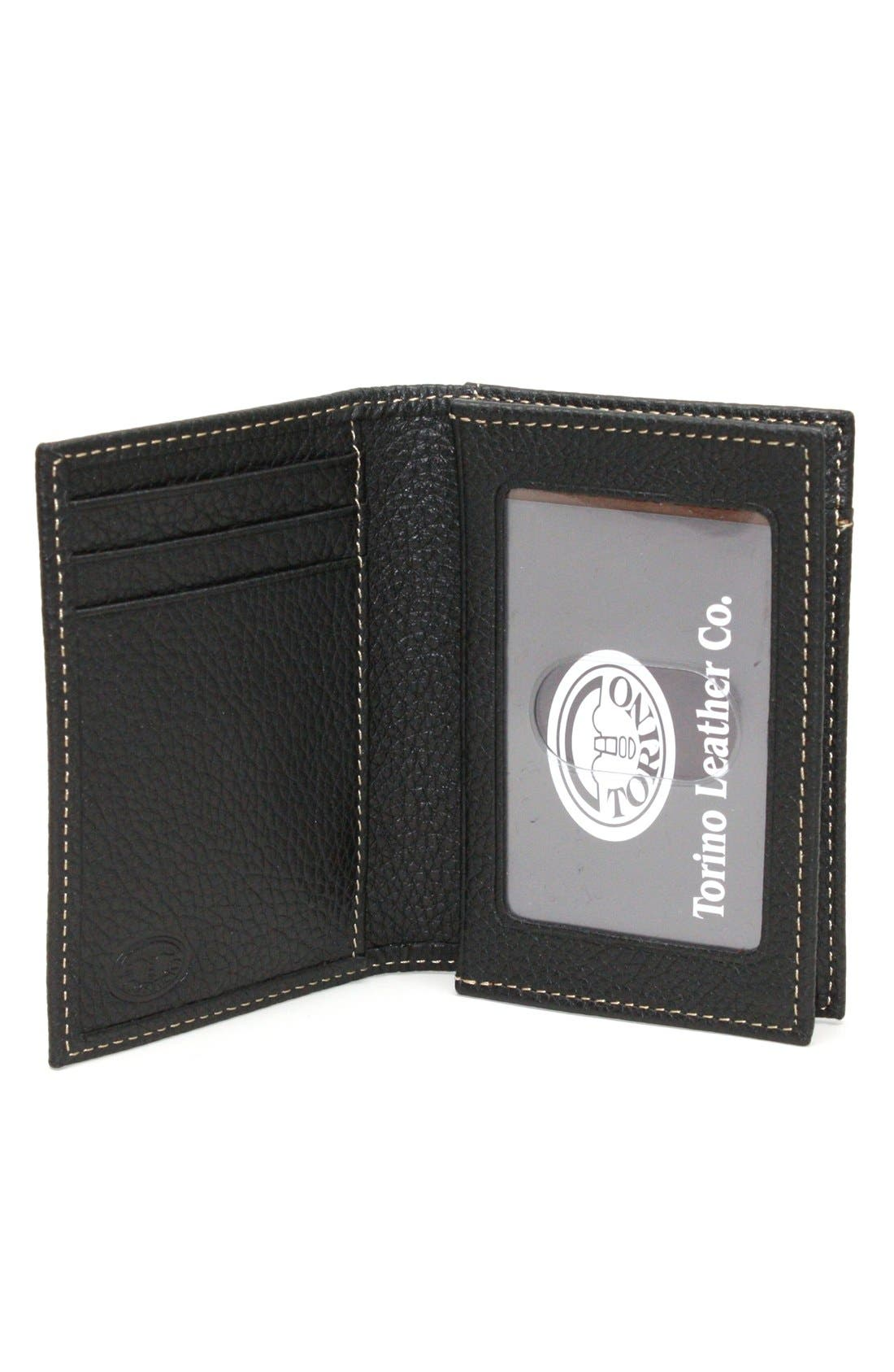 Alternate Image 2  - Torino Belts Leather Card Case