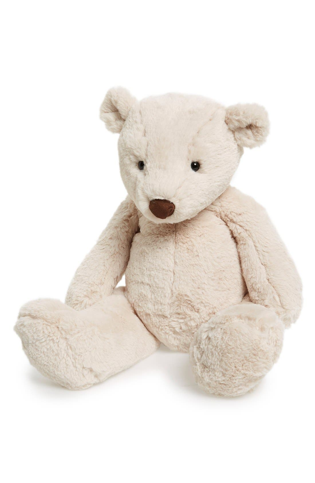 'Huge Barley Bear' Stuffed Animal,                             Alternate thumbnail 2, color,                             Ivory