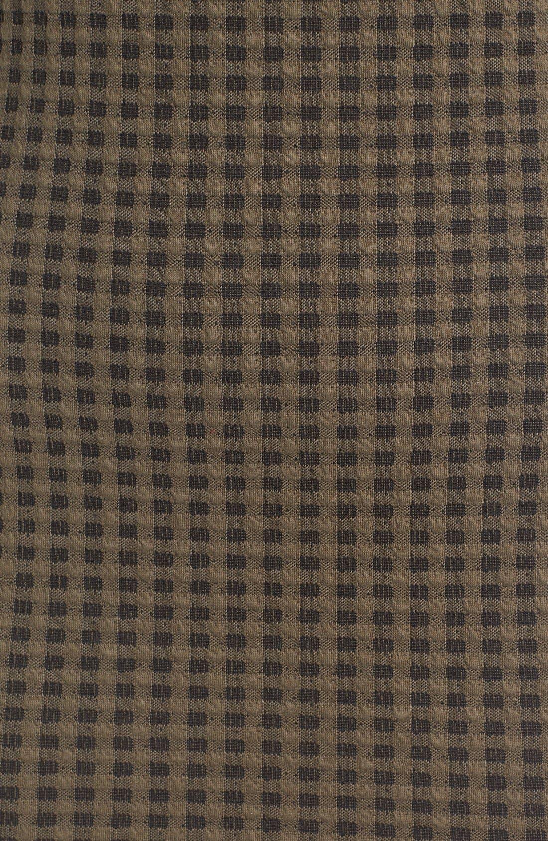Alternate Image 5  - Lush Surplice Hem Knit Body-Con Dress