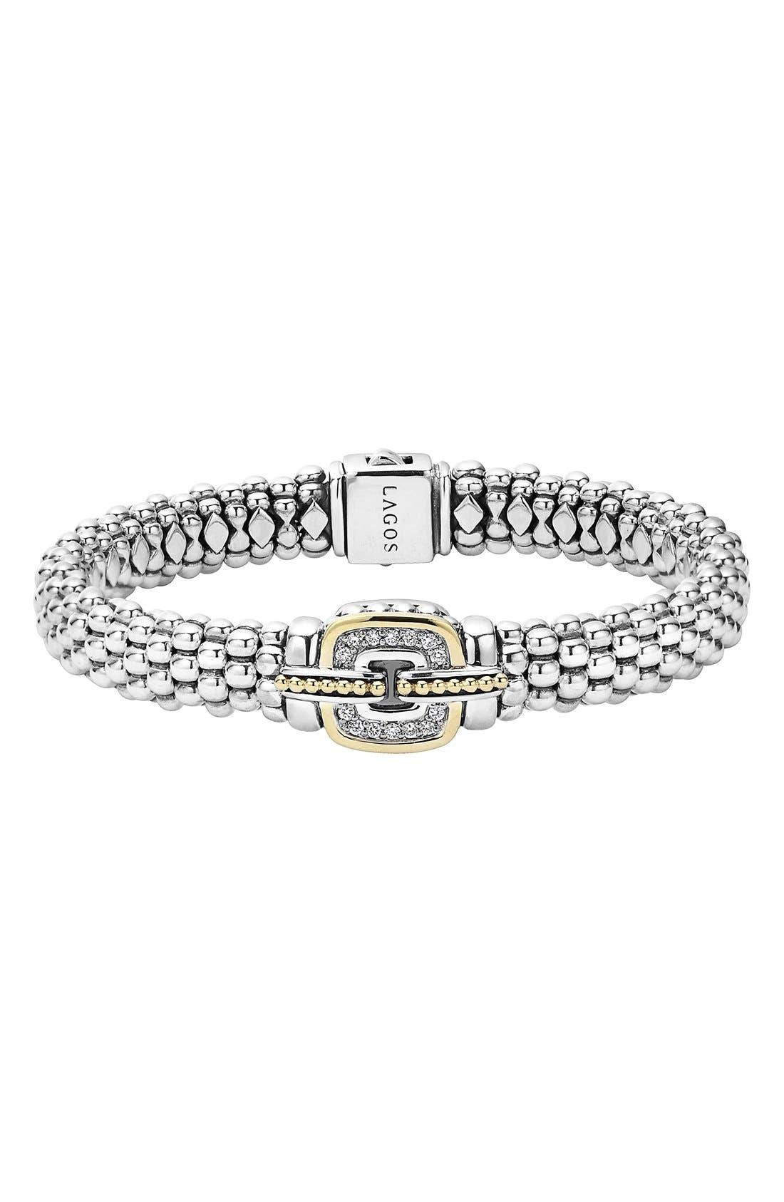 Main Image - LAGOS Cushion Caviar Bracelet