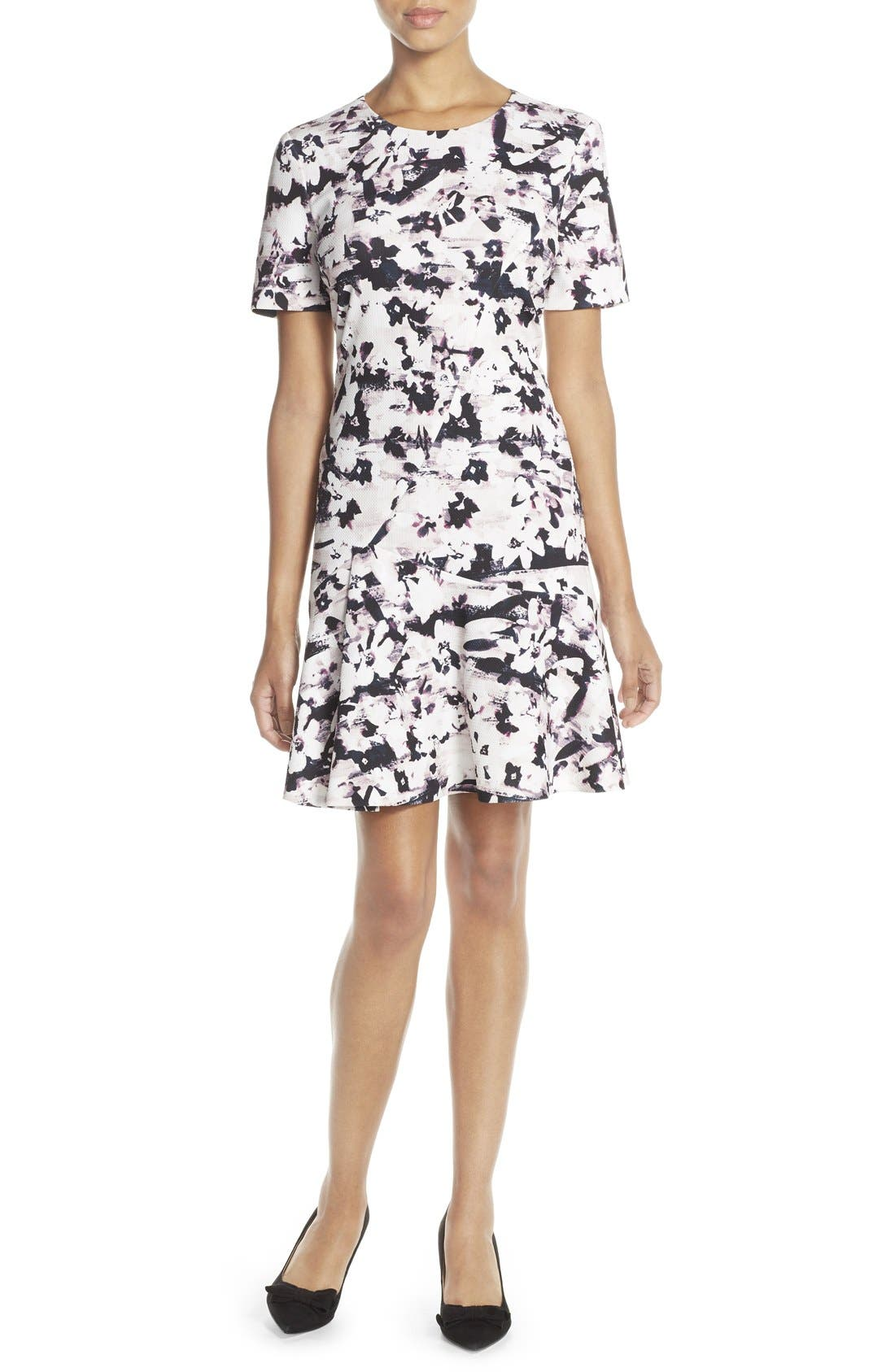 Alternate Image 1 Selected - Ivanka Trump Drop Waist Dress