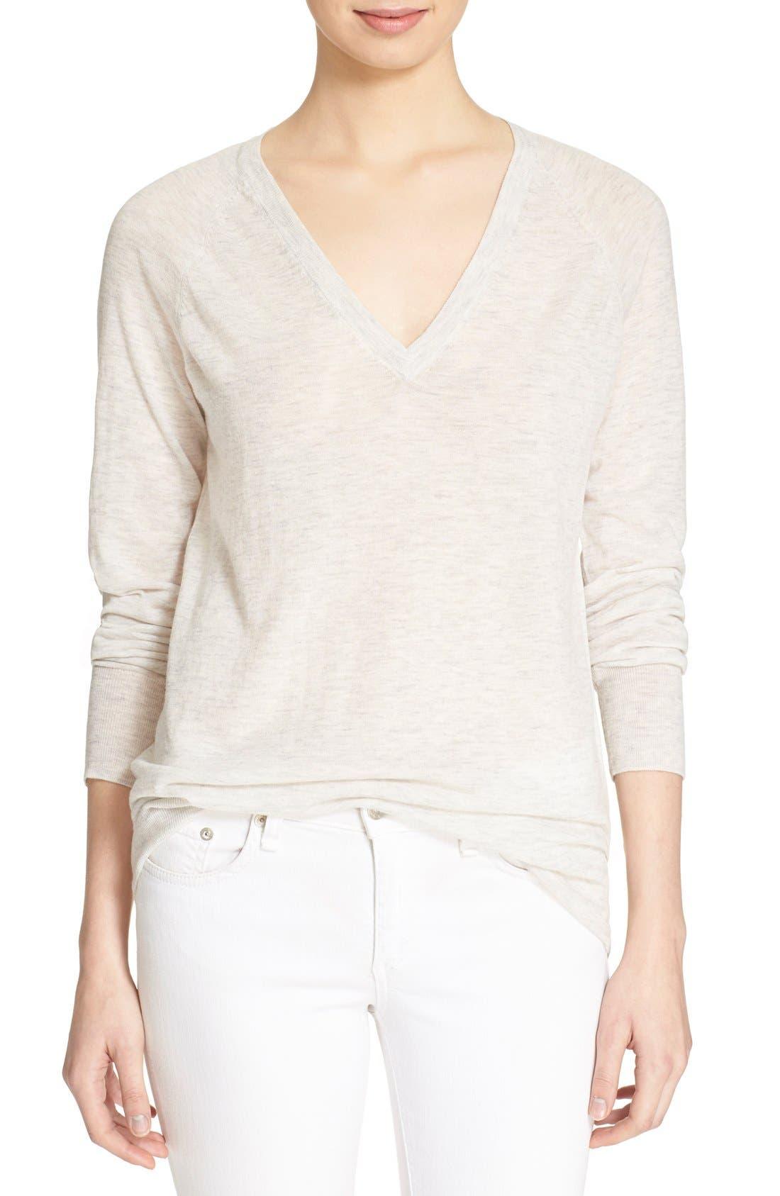 Alternate Image 1 Selected - Equipment 'Asher' V-Neck Sweater