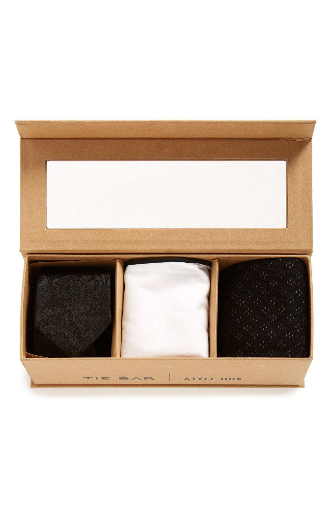 THE TIE BAR Small Style Box