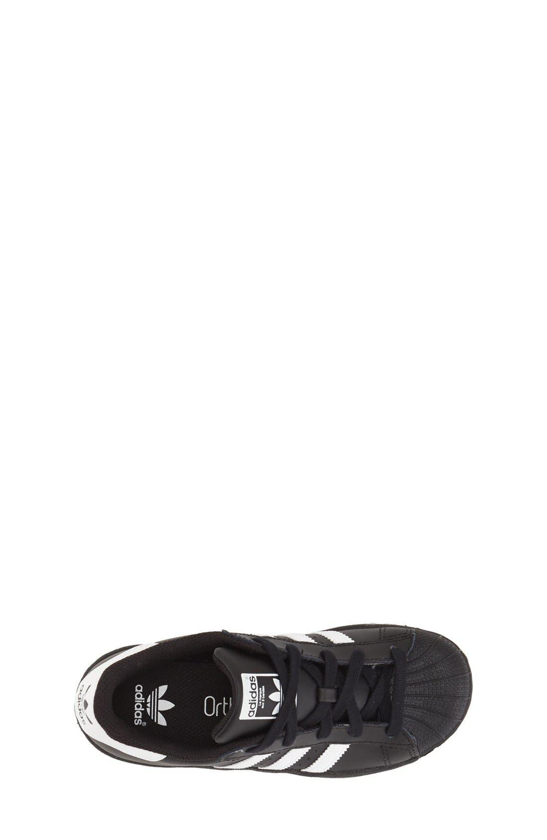 Alternate Image 3  - adidas 'Superstar' Sneaker (Baby, Walker, Toddler, Little Kid & Big Kid)