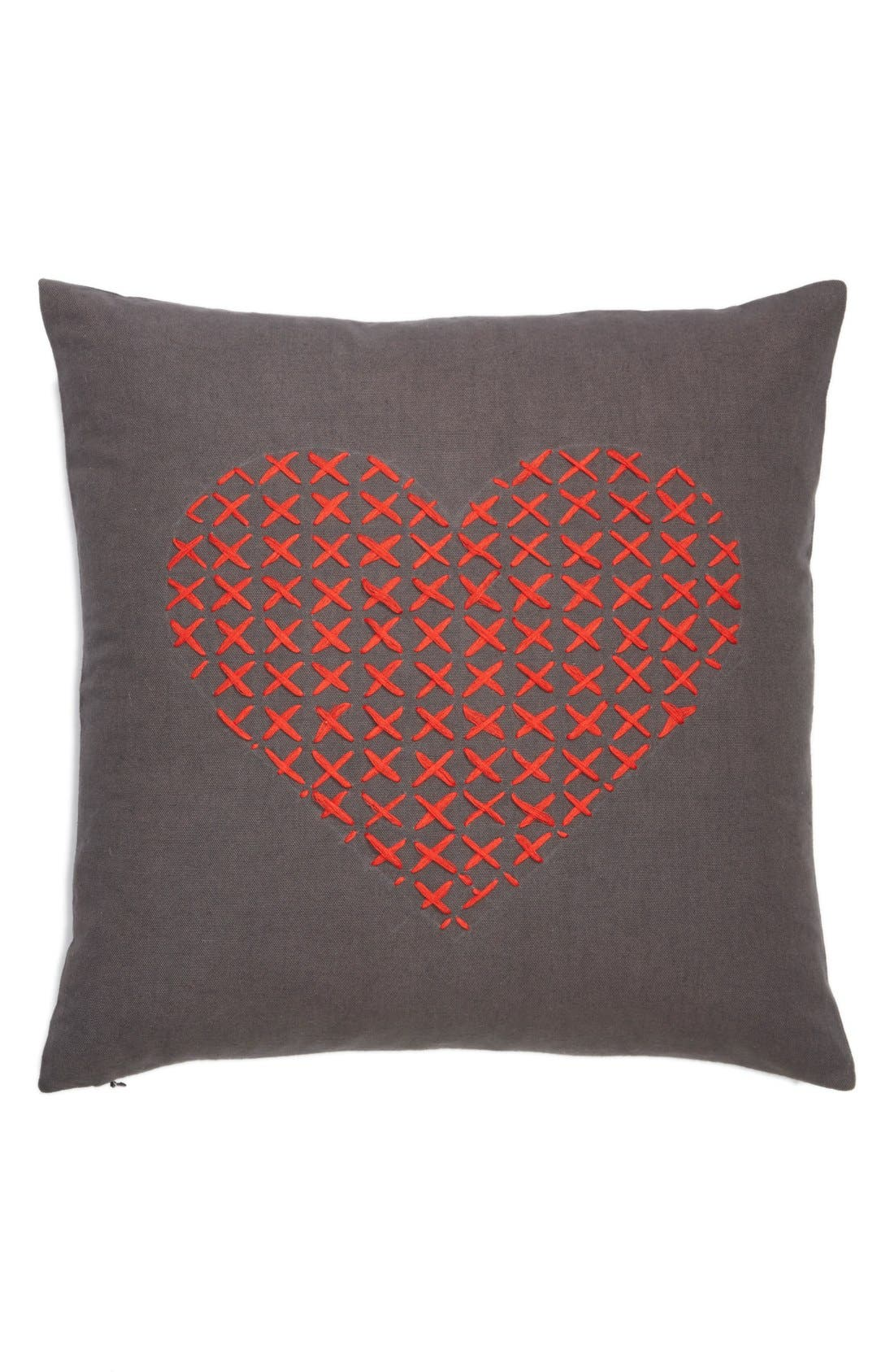 Alternate Image 1 Selected - Nordstrom at Home 'Cross My Heart' Pillow
