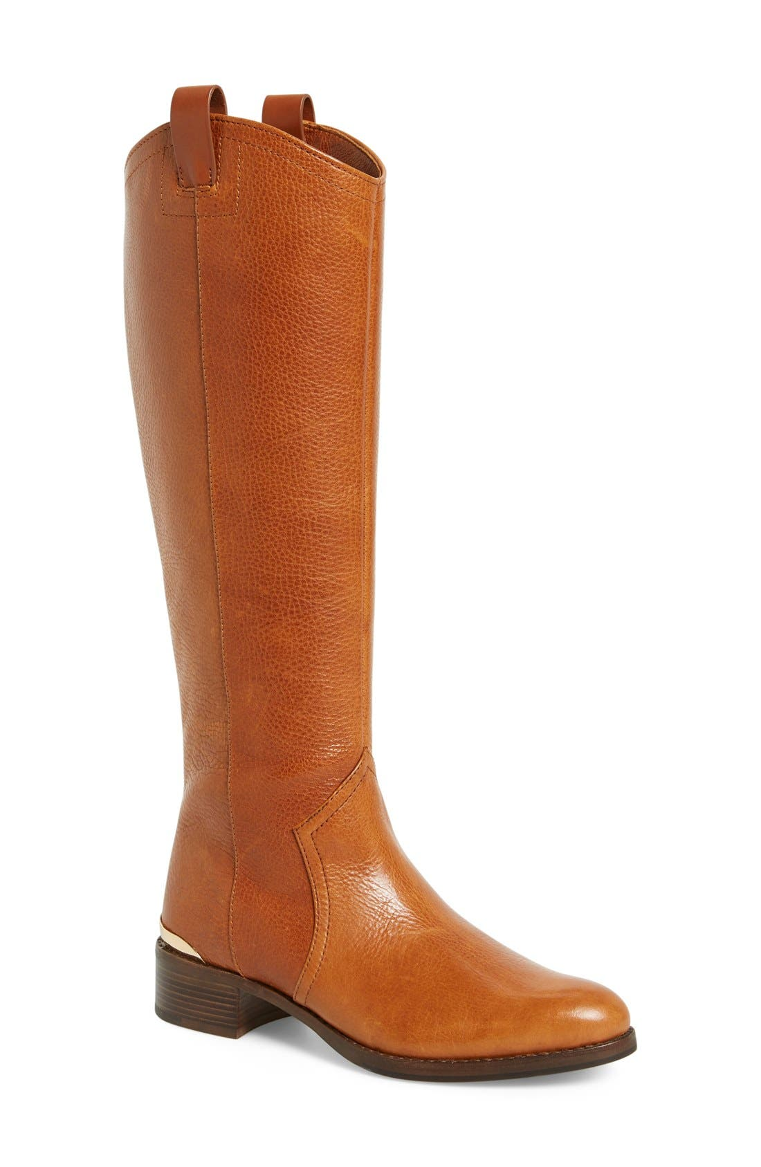 Alternate Image 1 Selected - Louise et Cie 'Zada' Knee High Leather Riding Boot (Women) (Wide Calf) (Nordstrom Exclusive)