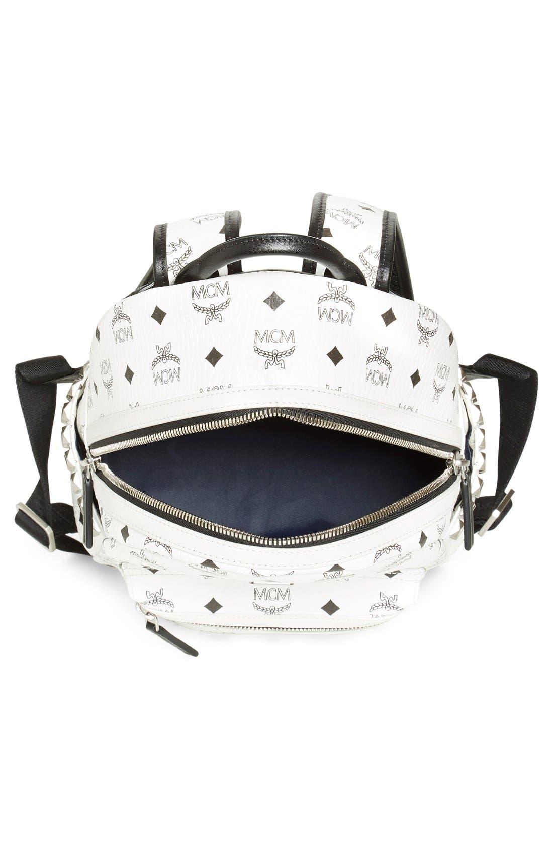 Alternate Image 4  - MCM Small Stark Side Stud Backpack