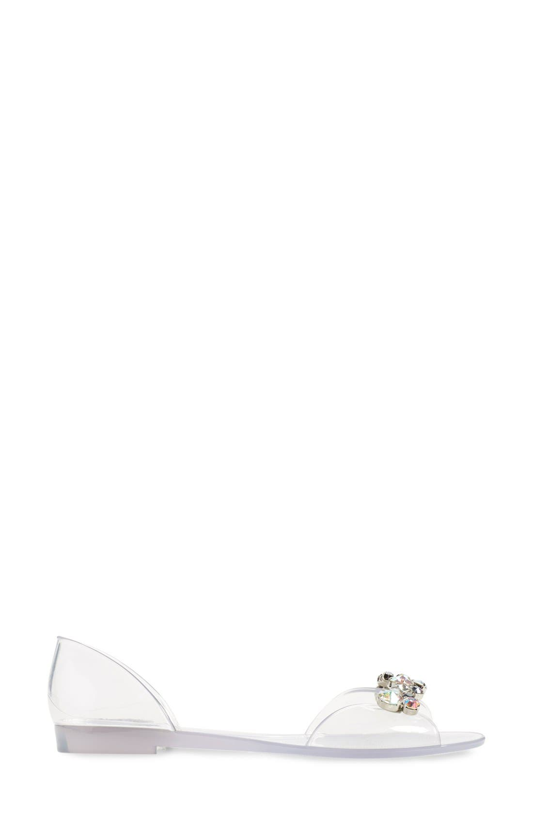 Alternate Image 4  - Stuart Weitzman 'Jubilee' d'Orsay Sandal (Women)