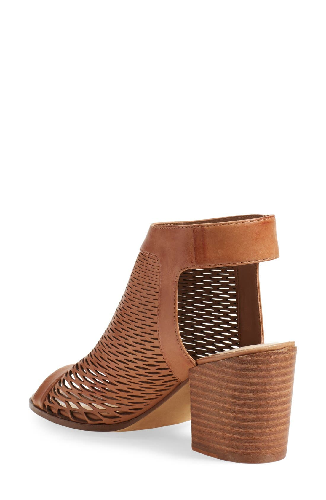 Alternate Image 2  - Vince Camuto 'Lavette' Perforated Peep Toe Bootie (Women) (Nordstrom Exclusive)
