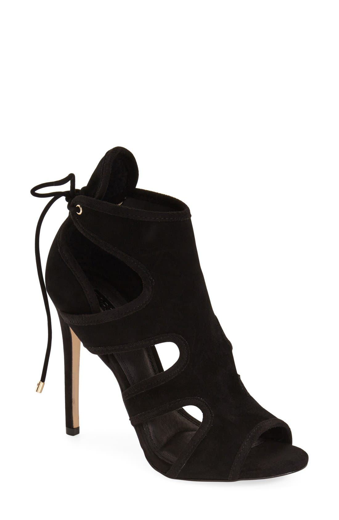 Alternate Image 1 Selected - Topshop 'Reveal' Cutaway' Sandal (Women)