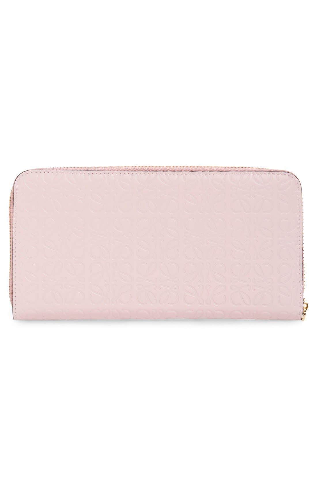 Alternate Image 4  - Loewe Leather Zip Around Wallet