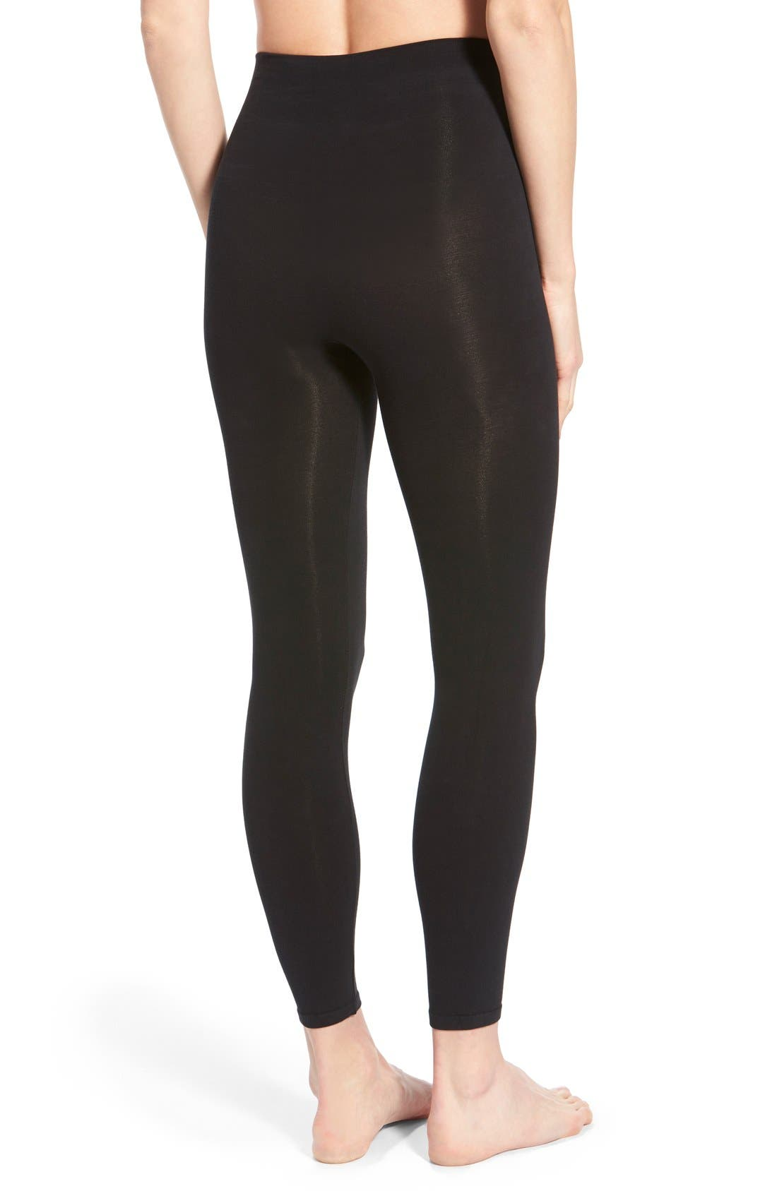 Alternate Image 2  - SPANX® 'Look-at-Me' Shaping Leggings