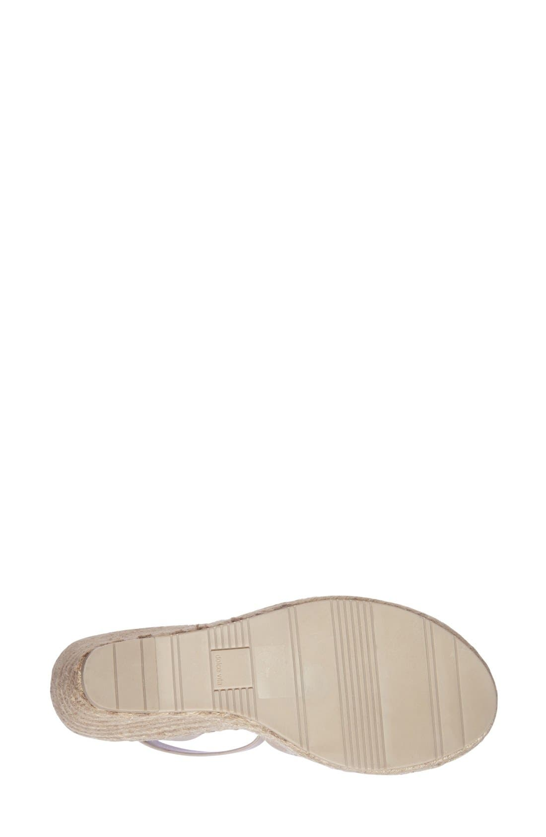 Alternate Image 4  - Dolce Vita 'Nova' Espadrille Wedge Sandal (Women)