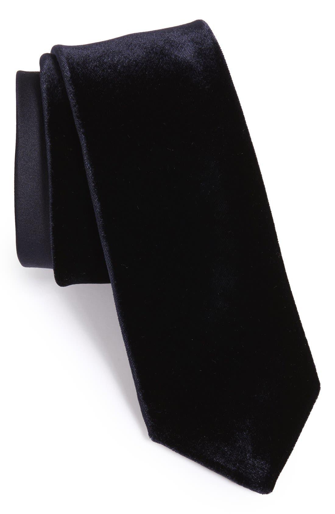 Alternate Image 1 Selected - Yves Saint Laurent Woven Tie