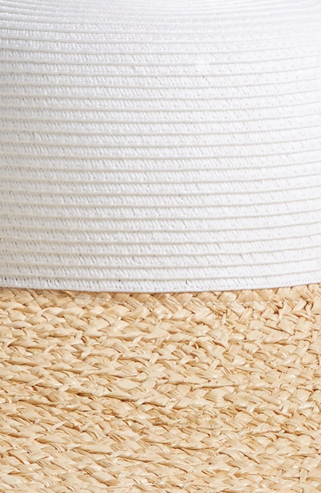 Alternate Image 2  - Caslon® Colorblock Floppy Sun Hat