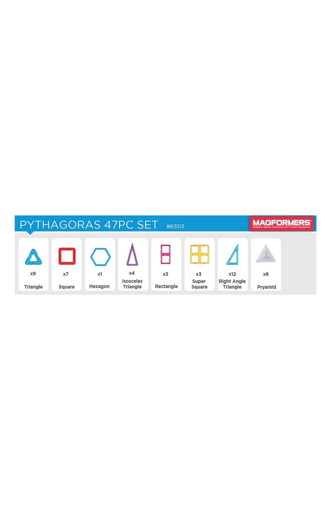Alternate Image 3  - Magformers 'Pythagoras' Magnetic Construction Set