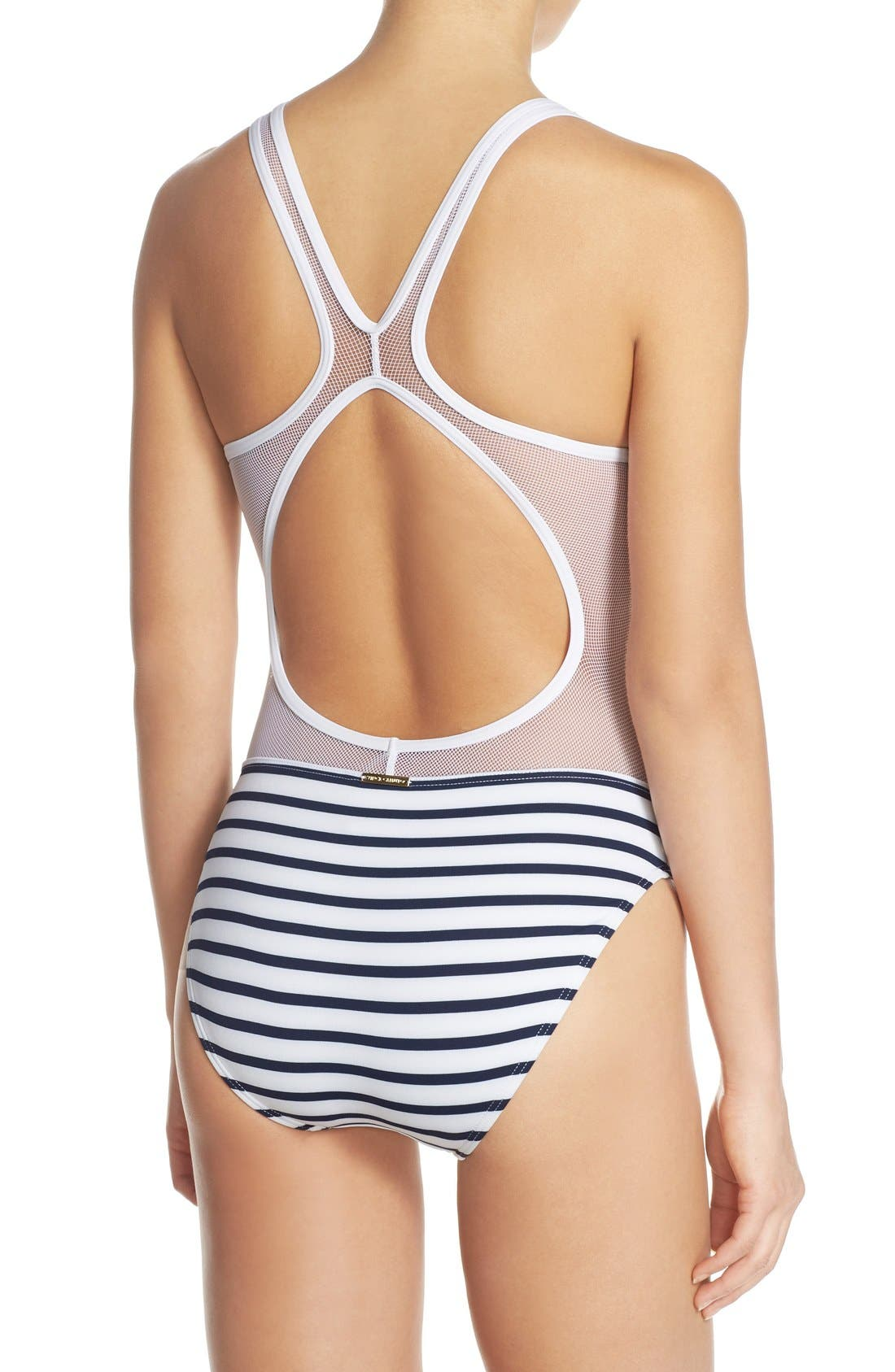 Alternate Image 2  - Vince Camuto 'Shore Side' One-Piece Swimsuit