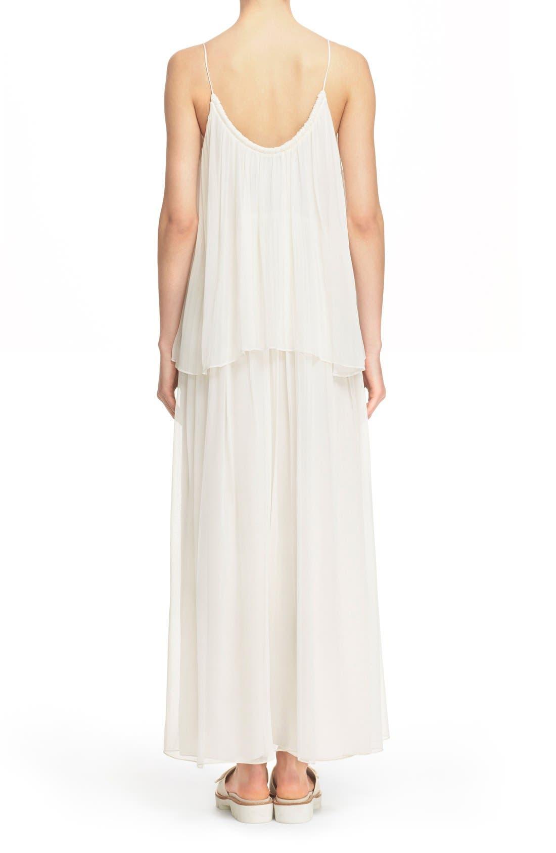 Alternate Image 2  - Elizabeth and James 'Mael' Blouson Silk Maxi Dress