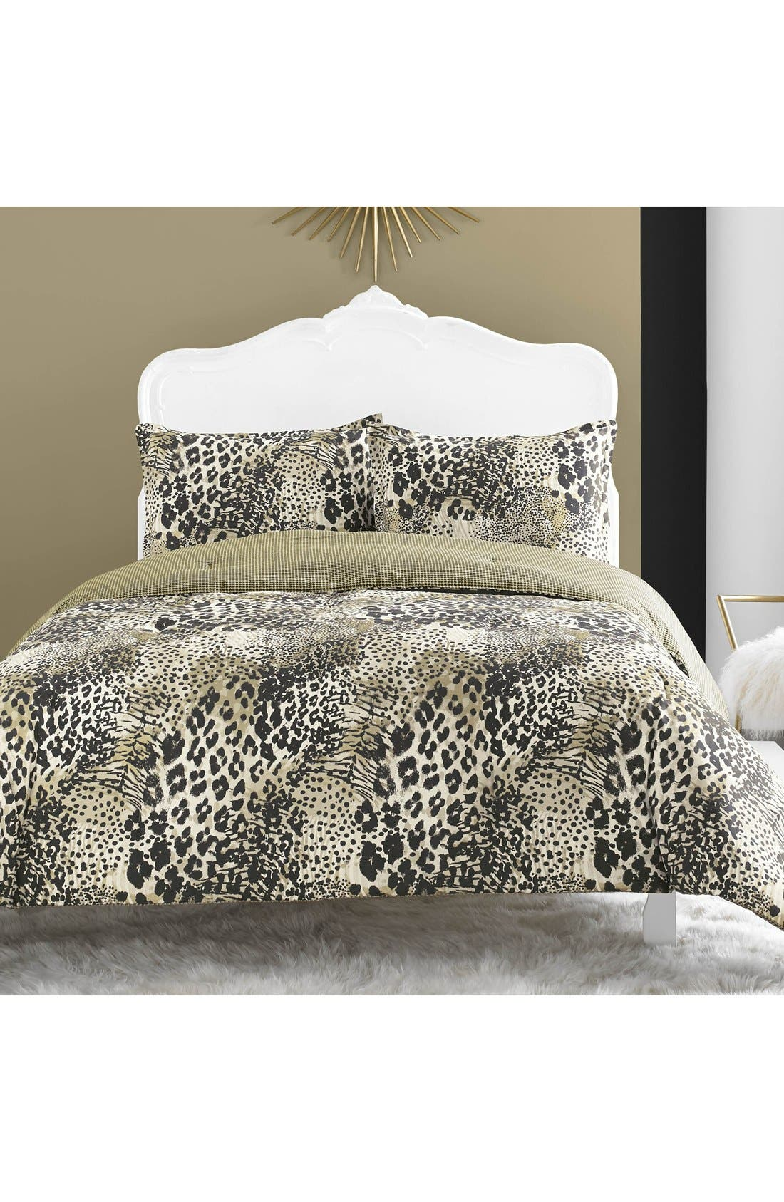 betsey johnson bedding 'wild thing' comforter set | nordstrom
