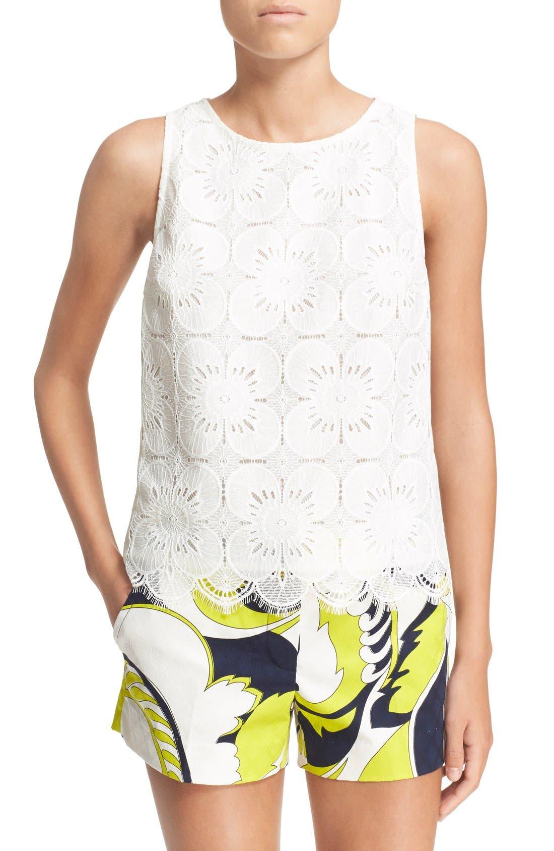Main Image - Trina Turk 'Pretti' Lace Top