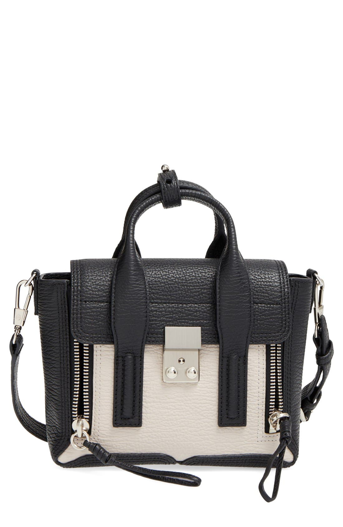 Alternate Image 1 Selected - 3.1 Phillip Lim 'Mini Pashli' Colorblock Satchel