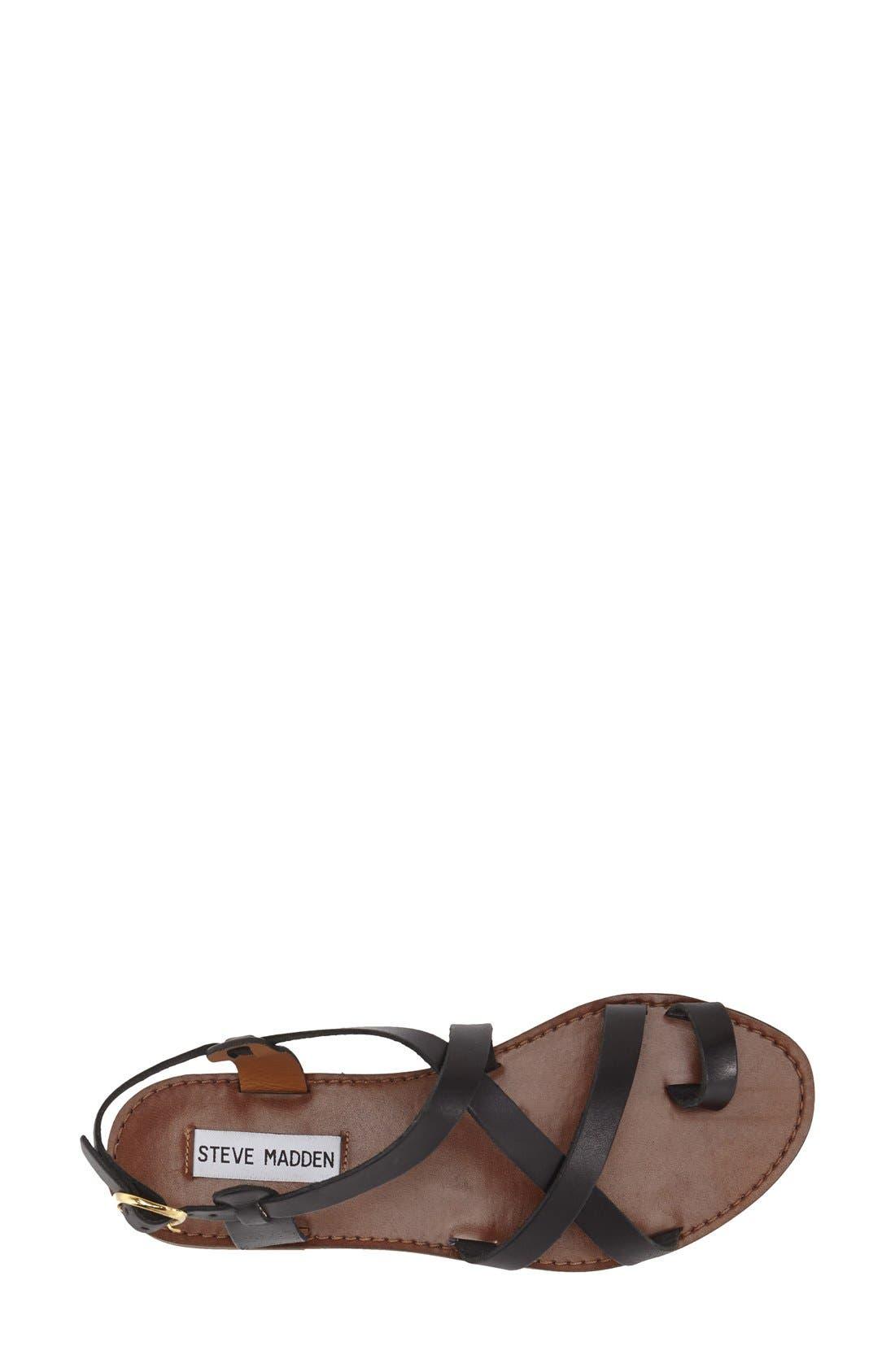 Alternate Image 3  - Steve Madden 'Agathist' Leather Ankle Strap Sandal (Women)