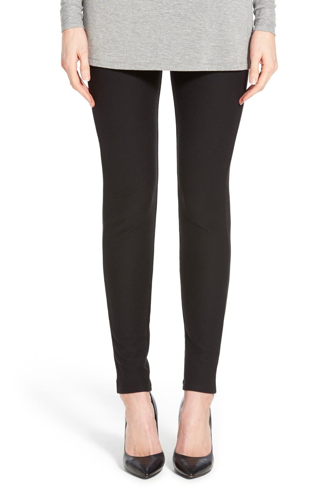 Alternate Image 1 Selected - MICHAEL Michael Kors Stretch Twill Leggings
