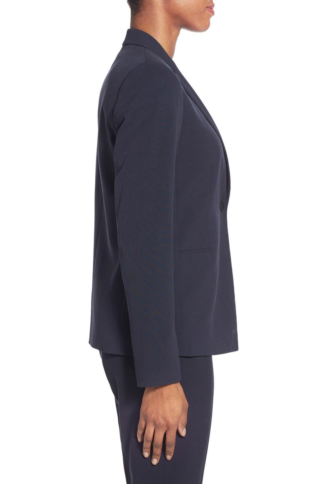 Alternate Image 4  - T Tahari Jolie Stretch Woven Suit Jacket