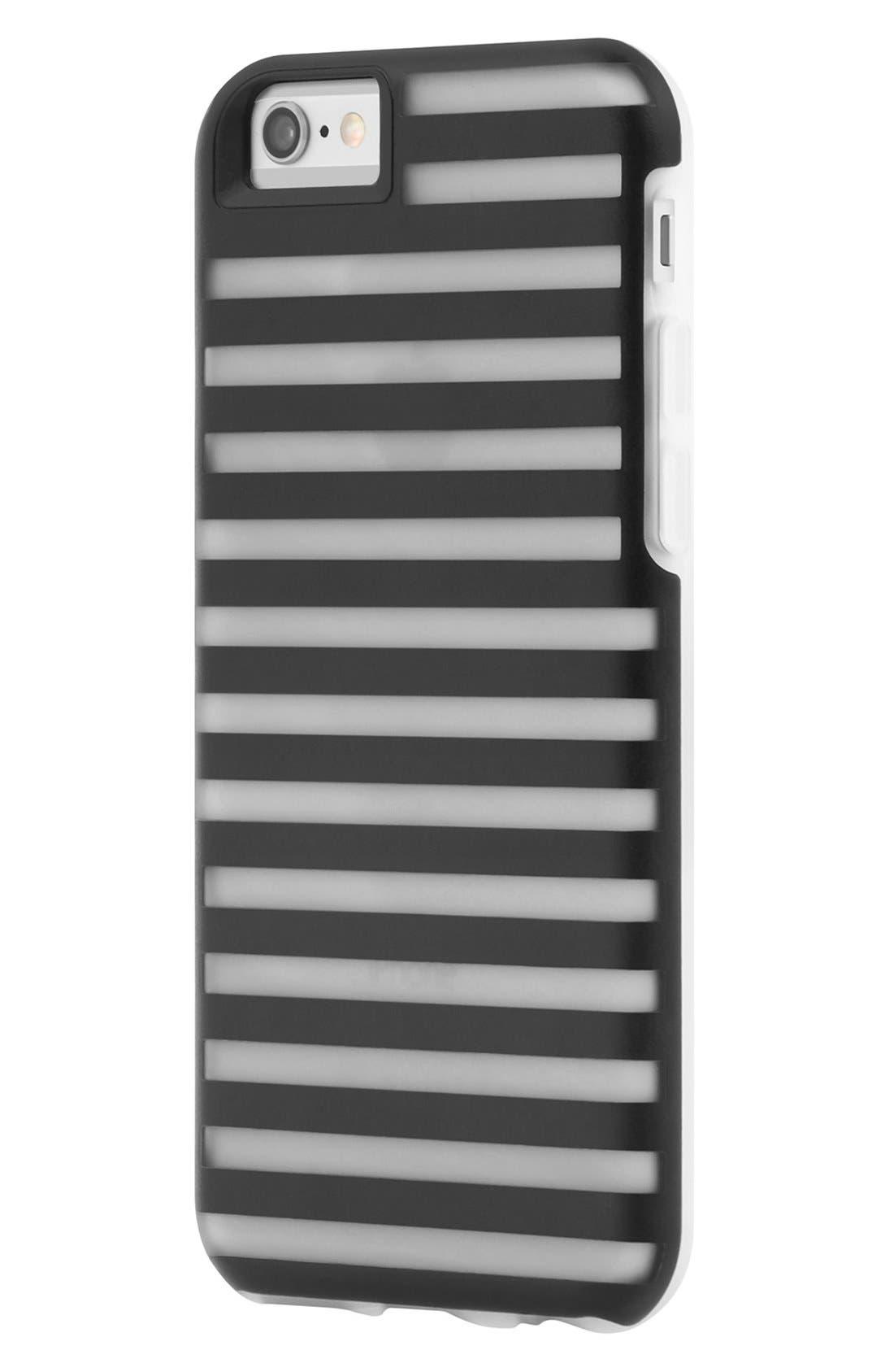 Hollow iPhone 6/6s Case,                         Main,                         color, Black