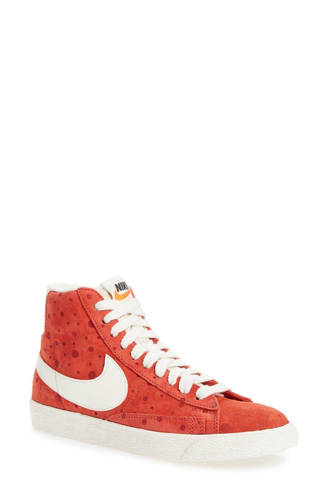 Alternate Image 1 Selected - Nike 'Blazer' Vintage High Top Basketball Sneaker (Women)